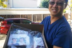 Dr. Enoch Choi Takes the Packed Heart to Hope Bags from California to Cambodia