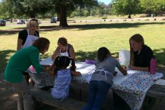 Painting in the Park: Heart to Hope Boards