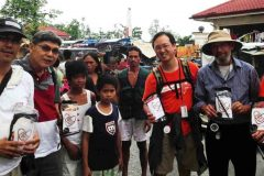 Heart to Hope Bags Being Delivered by Enoch Choi and Jordan International Aid to Children in the Philippines
