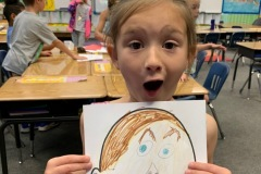 Teaching Feelings Through Art: First Grade Class at Lassen View Middle School